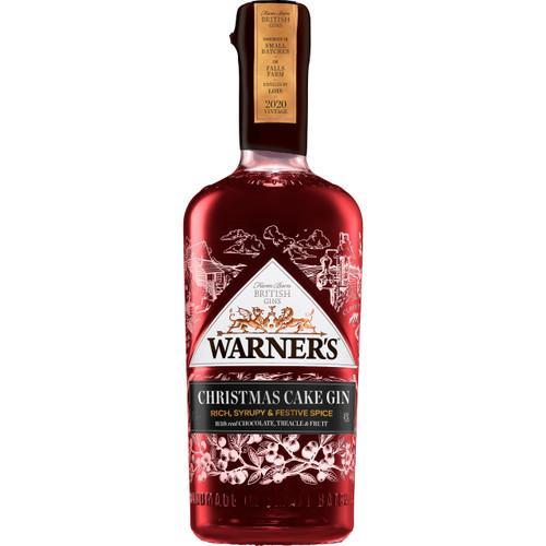 Warner's Christmas Cake Gin 2020