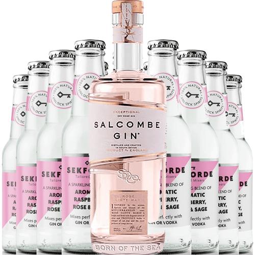 Salcombe Gin Rose Sainte Marie & Sekforde Bundle