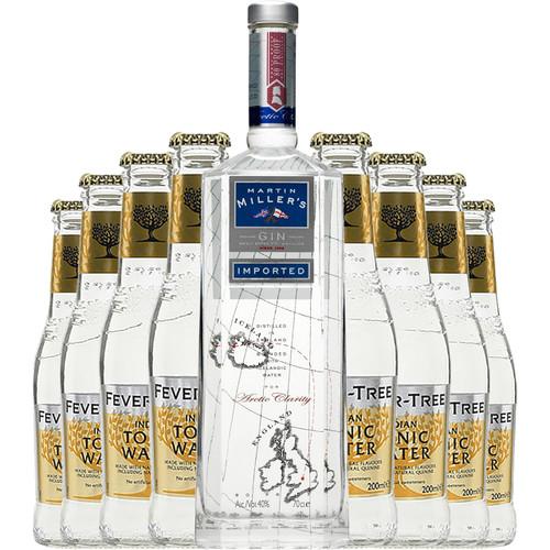 Martin Millers Gin & Tonic Bundle