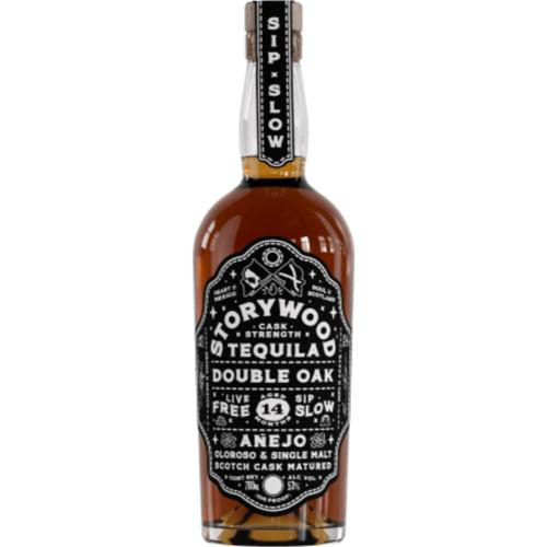 Storywood Double Oak Cask Strength Tequila