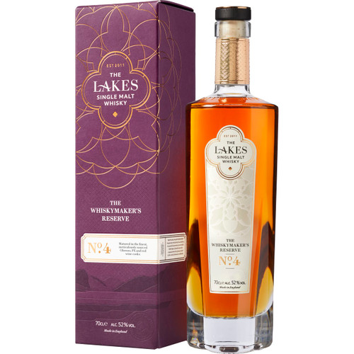 The Lakes Single Malt Whiskymaker's Reserve No. 4