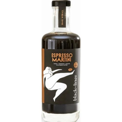 Black Lines Espresso Martini
