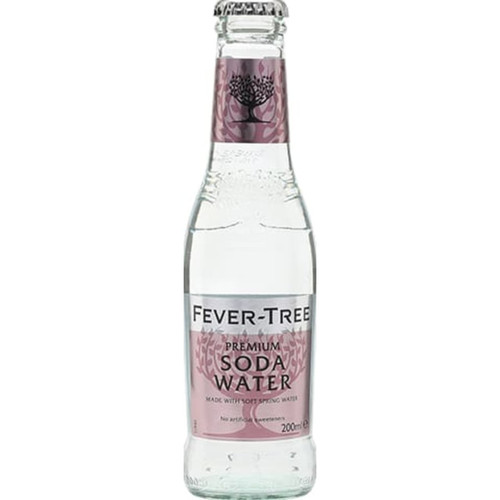 Fever-Tree Spring Soda Water Pack of 12
