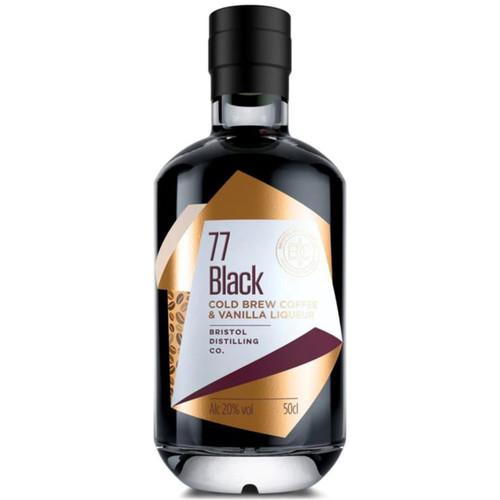 77 Black Cold Brew Coffee Liqueur