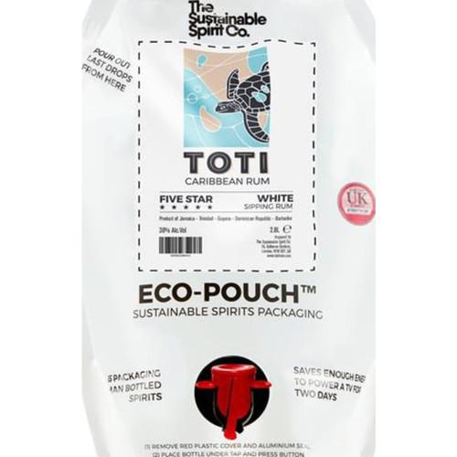 Toti Famous Five White Rum Eco Pouch