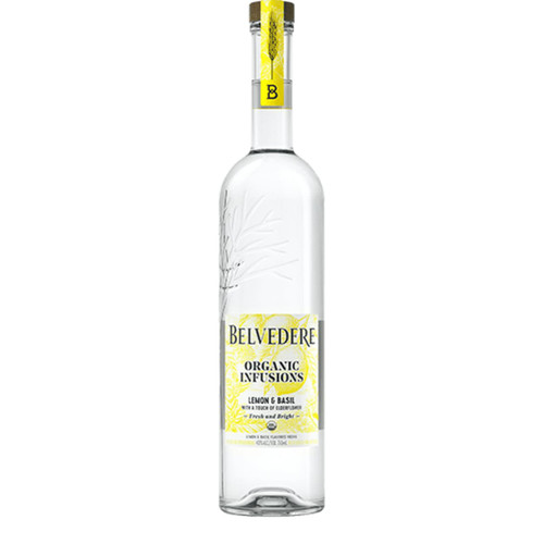 Belvedere Organic Infusions Lemon and Basil