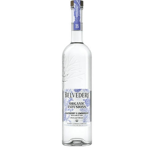 Belvedere Organic Infusions Blackberry and Lemongrass
