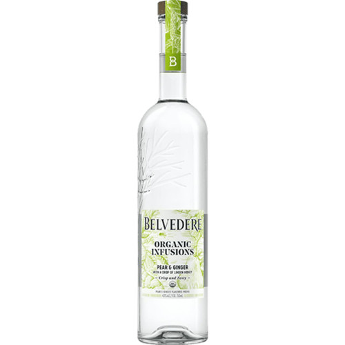 Belvedere Organic Infusions Pear and Ginger