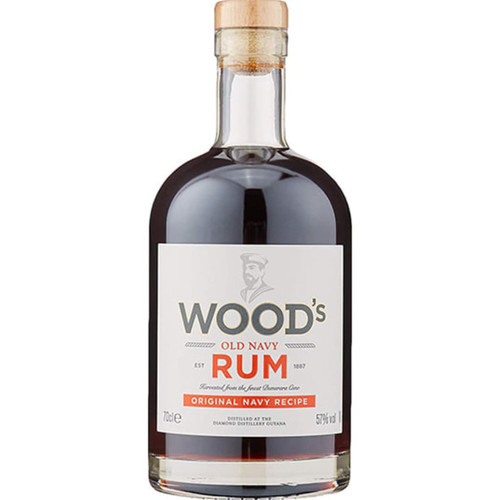 Wood's 100 Old Navy Demerara Rum