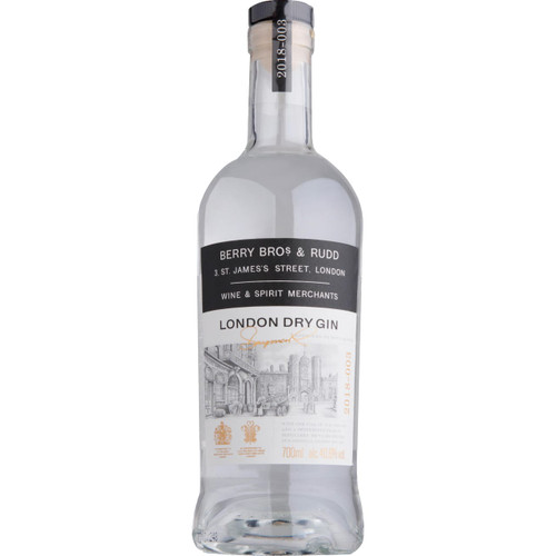 Berry Bros and Rudd London Dry Gin
