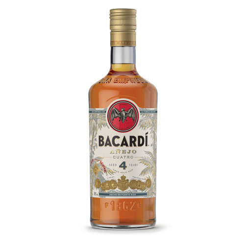 Bacardi Añejo Cuatro Rum