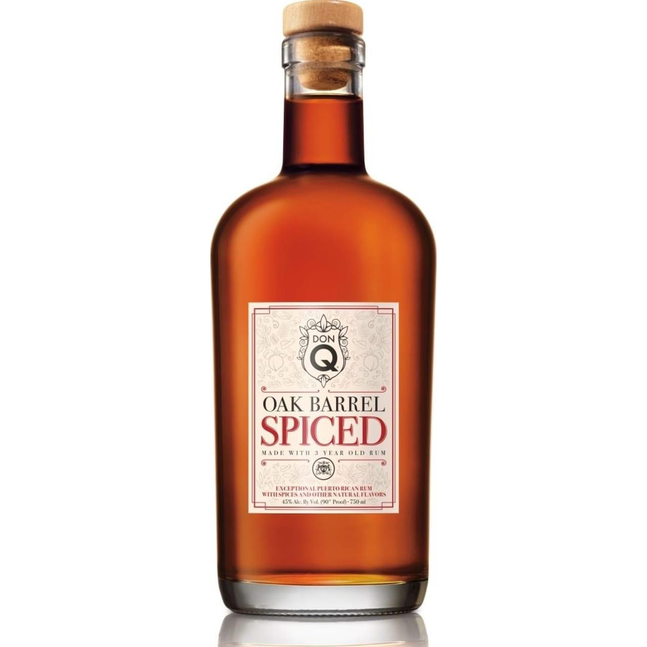Product Image - Don Q Oak Barrel Spiced Rum