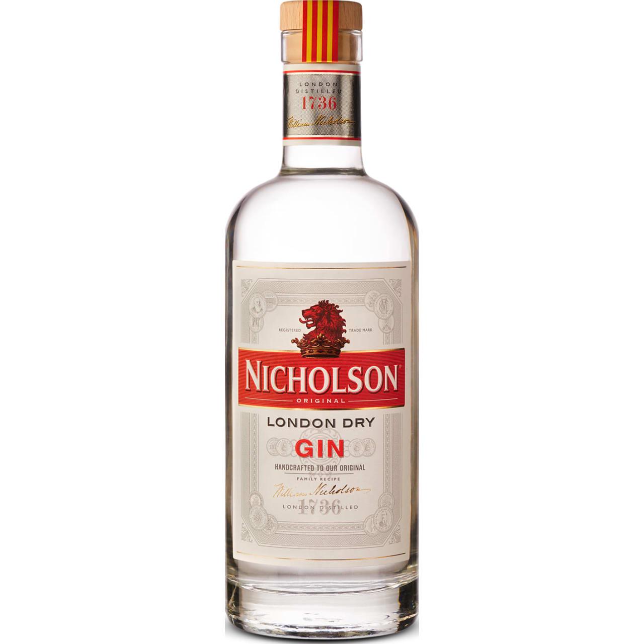 Product Image - Nicholson Original London Dry Gin