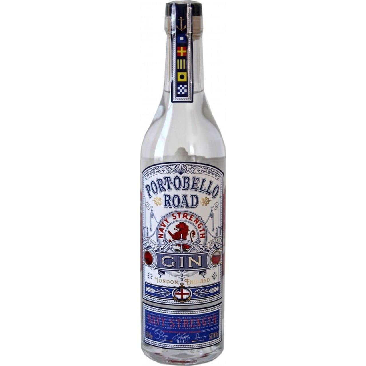Product Image - Portobello Road Navy Strength Gin