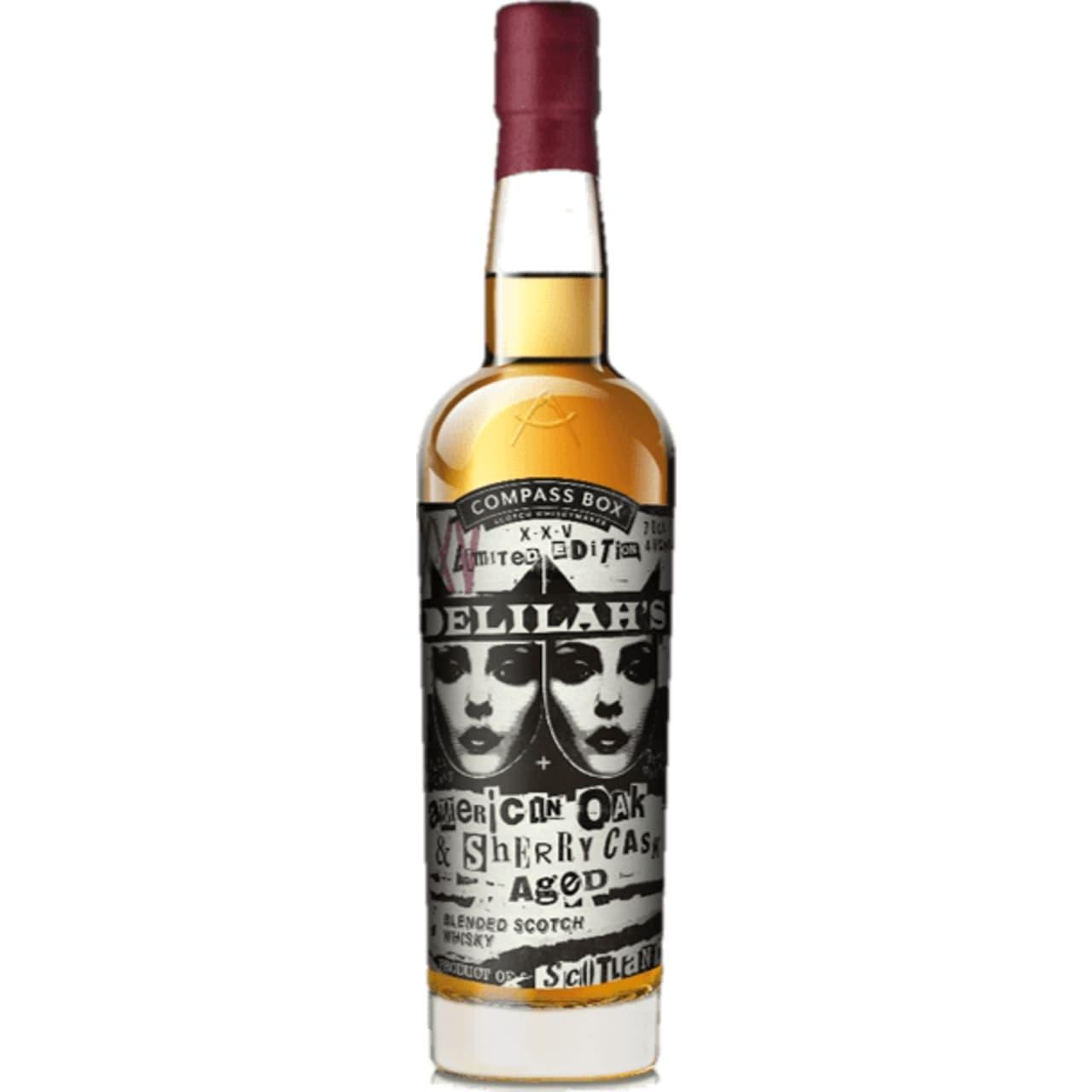 Product Image - Compass Box Delila's XXV Blended Scotch
