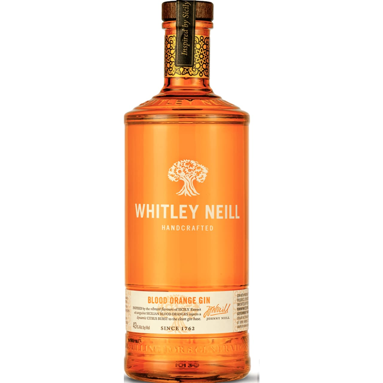 Product Image - Whitley Neill Blood Orange Gin