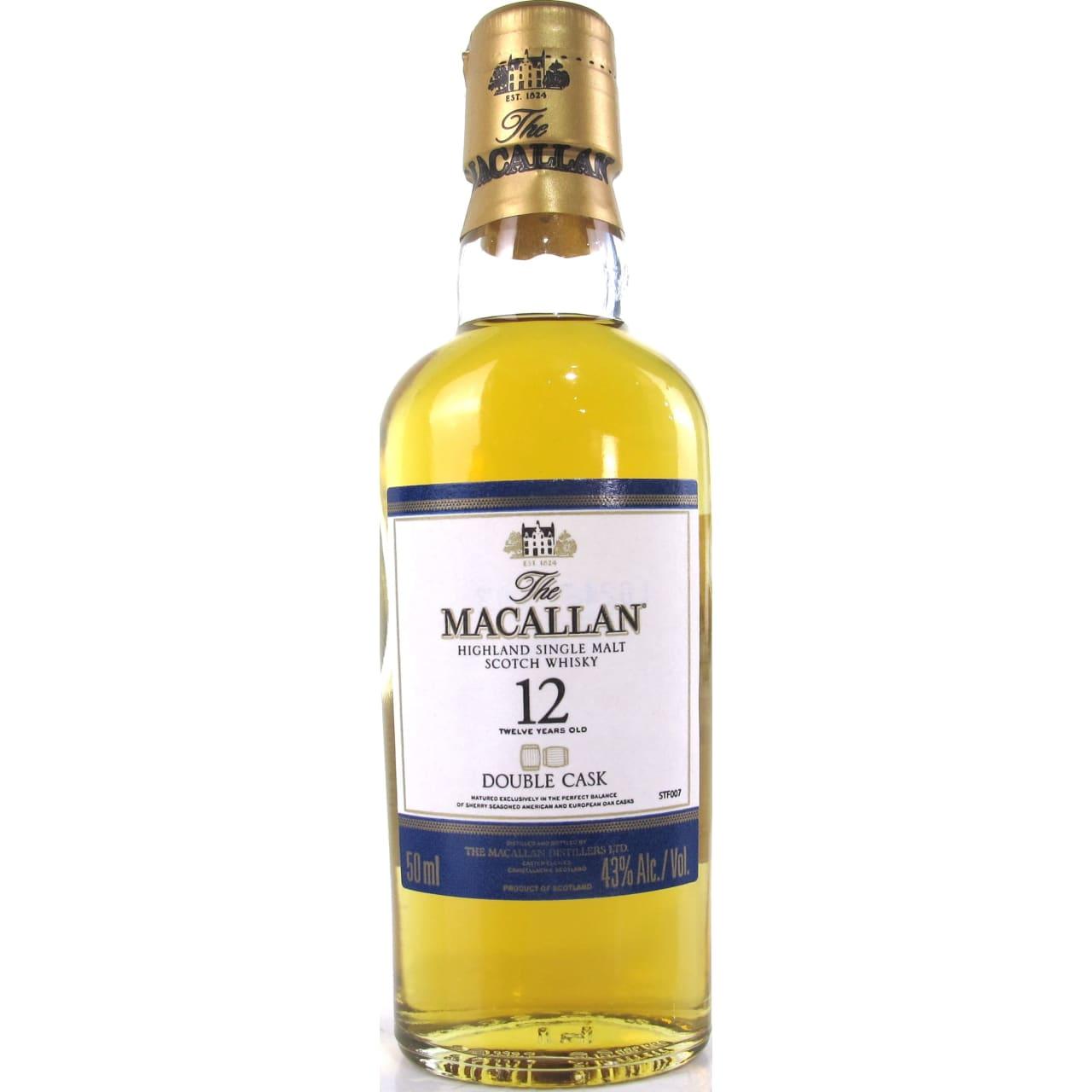 Product Image - The Macallan Gold Double Cask Single Malt Miniature