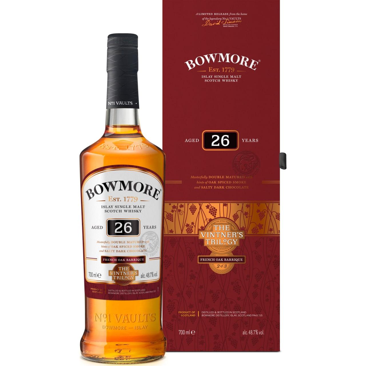 Product Image - Bowmore 26yo Single Malt