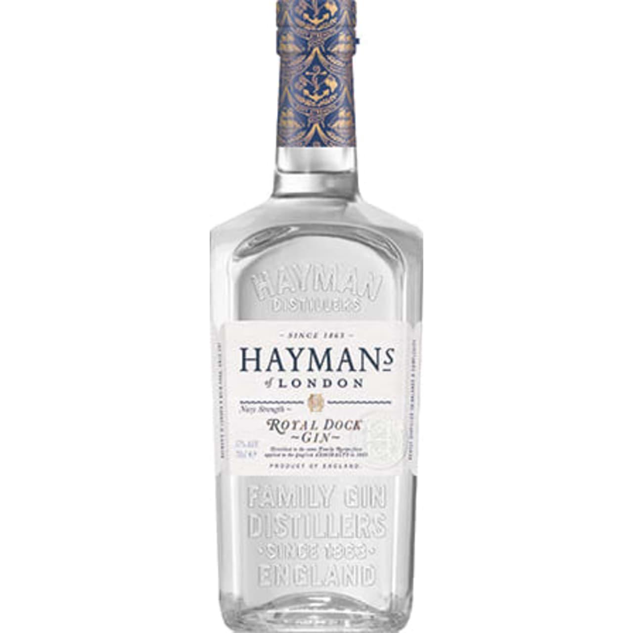 Product Image - Hayman's Royal Dock Navy Strength Gin