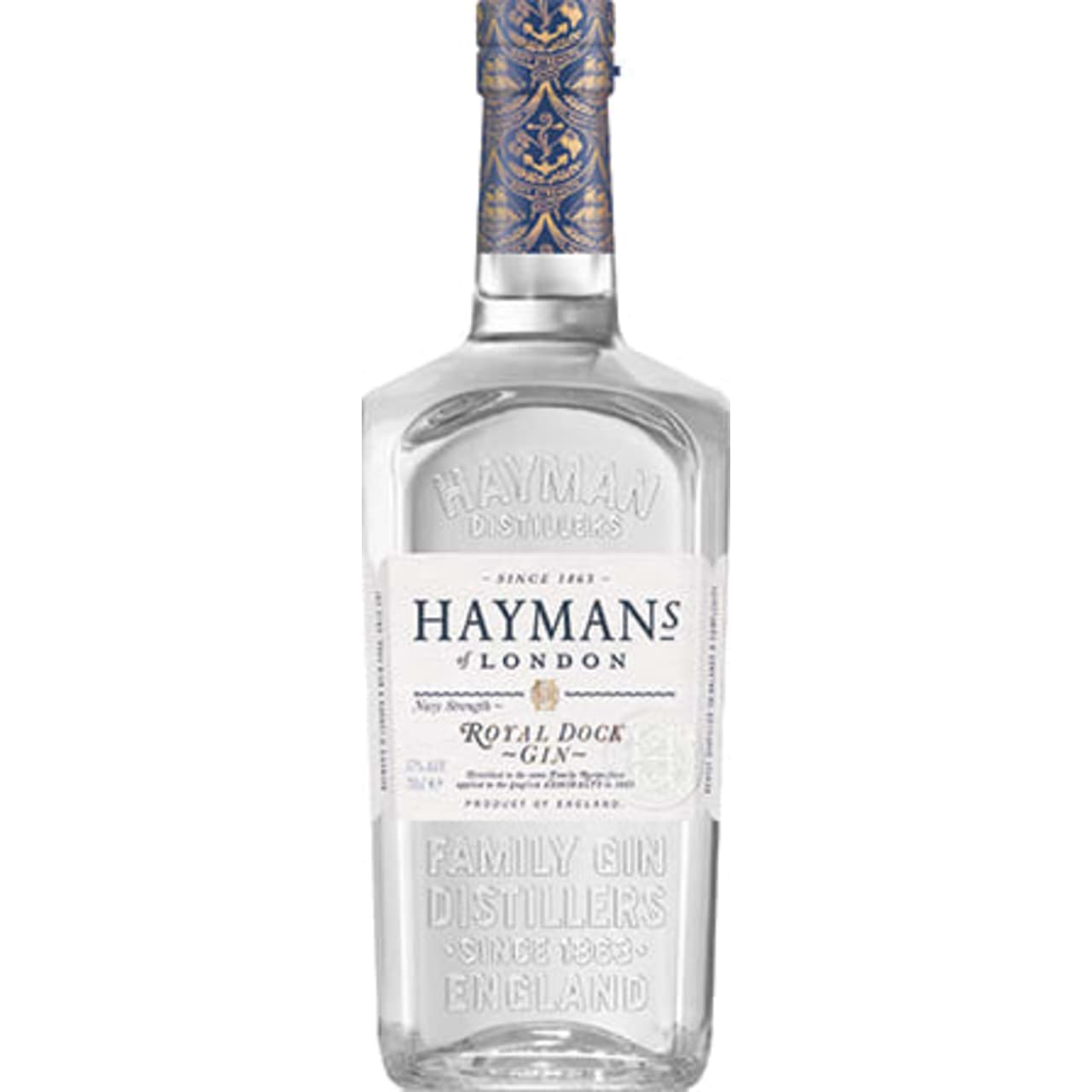 Product Image - Hayman's Royal Dock Navy Strength Gin