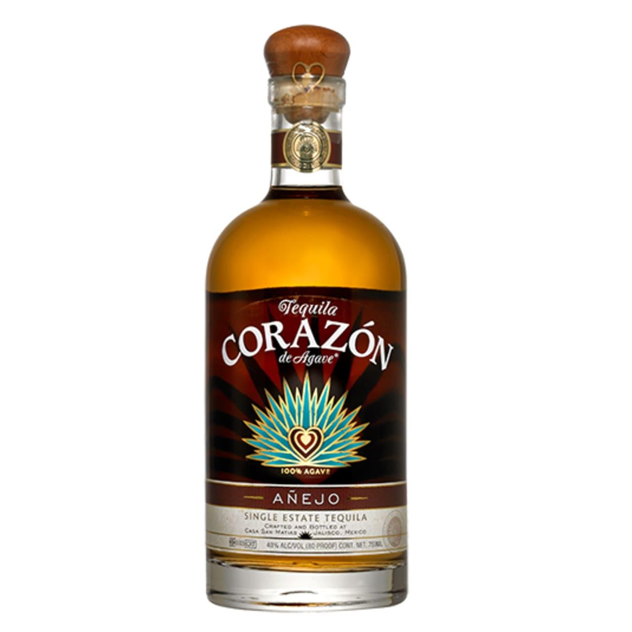 Product Image - Corazón Añejo Tequila