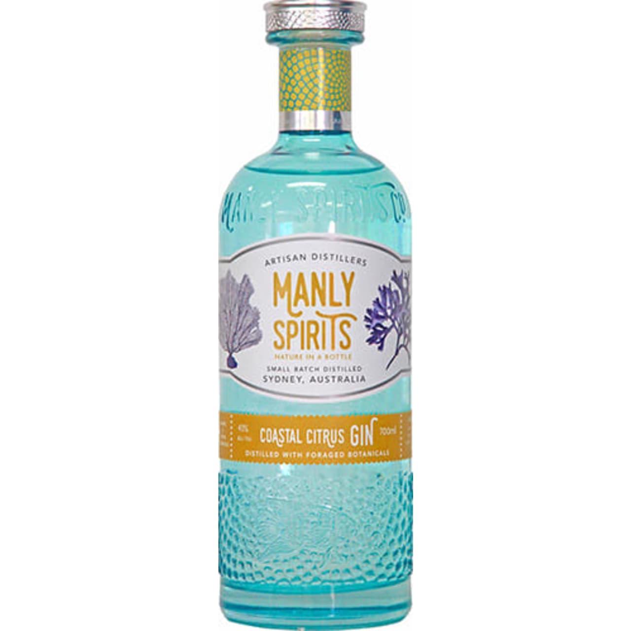 Product Image - Manly Spirits Co. Coastal Citrus Gin