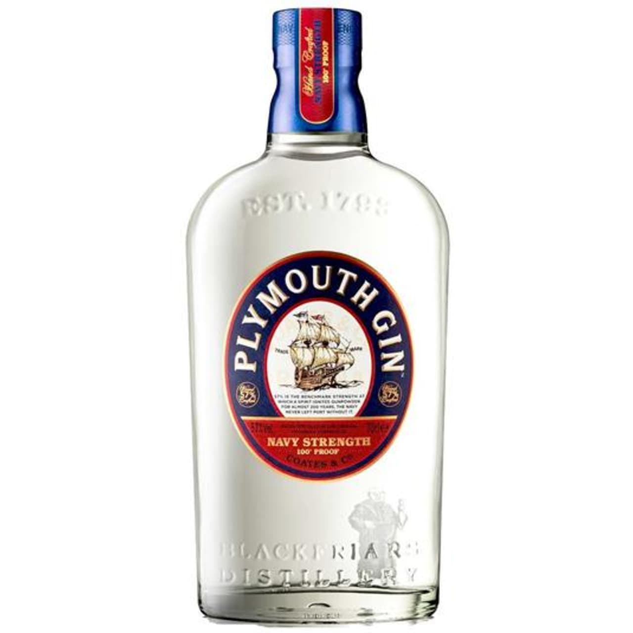 Product Image - Plymouth Navy Strength Gin