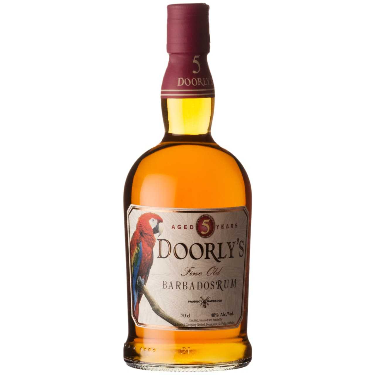 Product Image - Doorly's Gold 5yo Barbados Rum