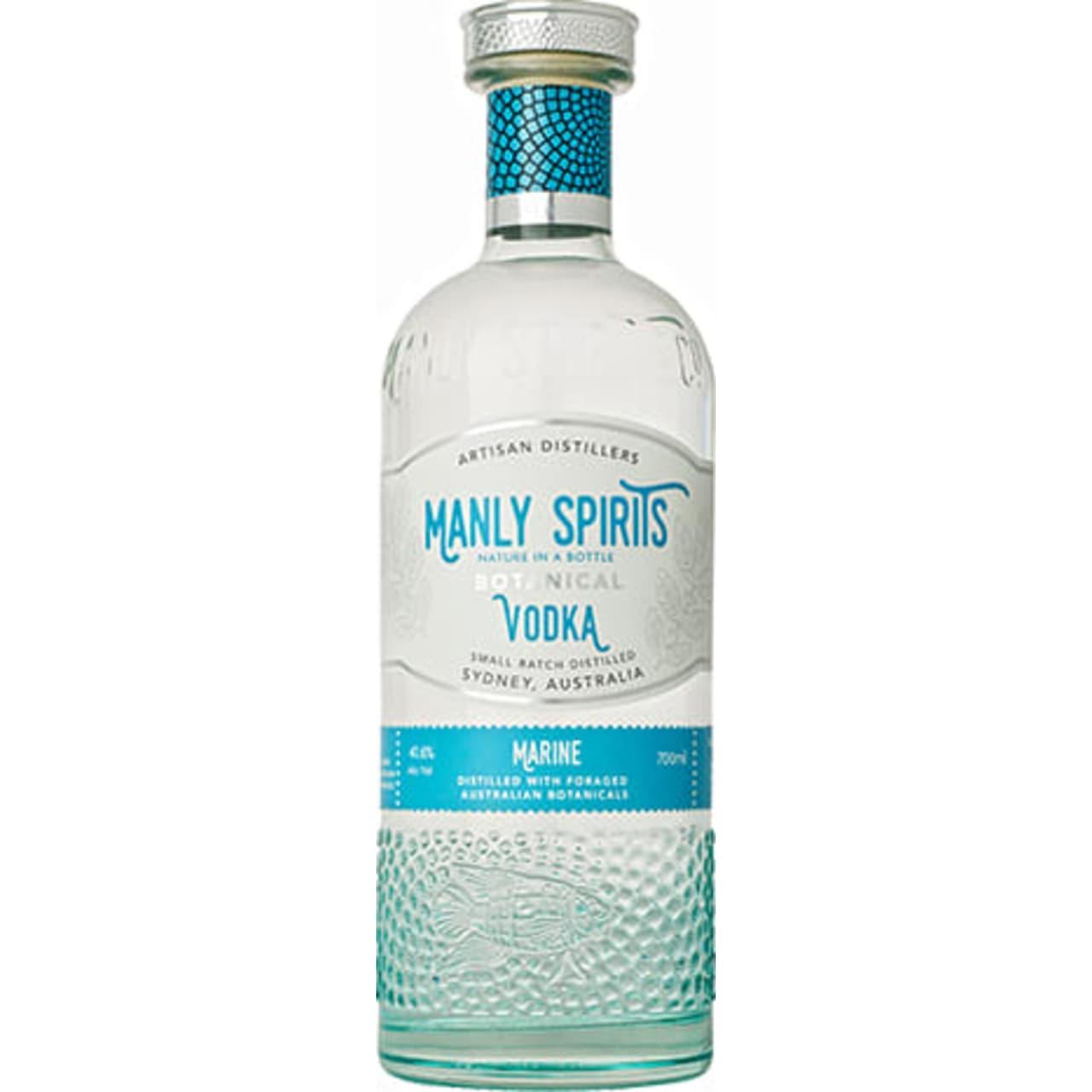 Product Image - Manly Spirits Co. Marine Botanical Vodka