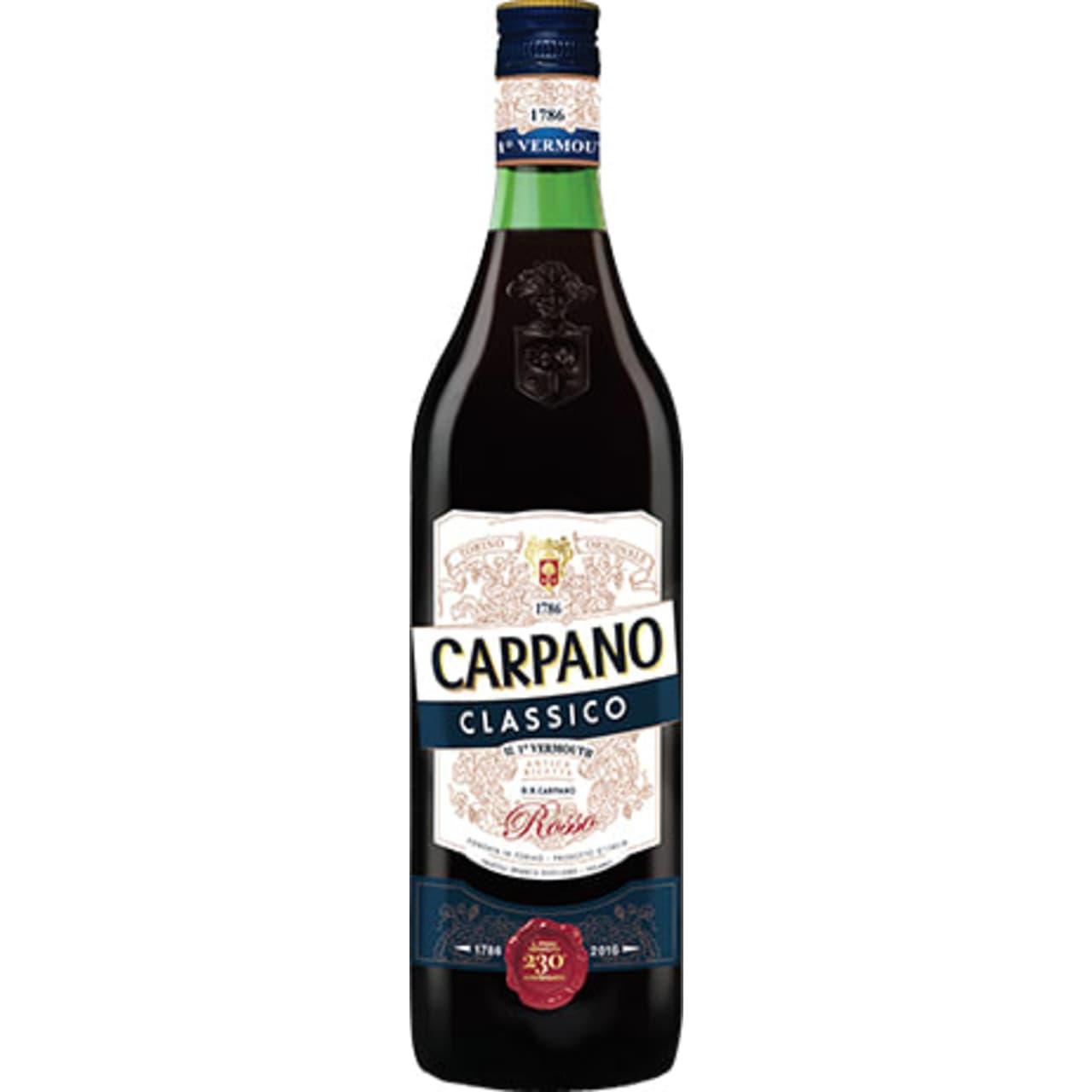 Product Image - Carpano Classico Vermouth