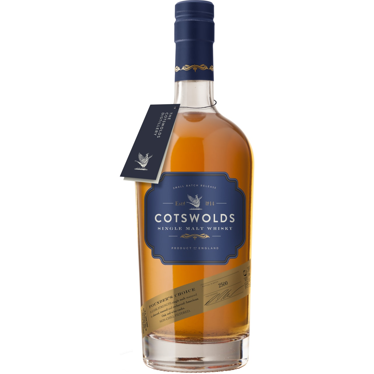 Product Image - Cotswolds Founder's Choice Single Malt Whisky