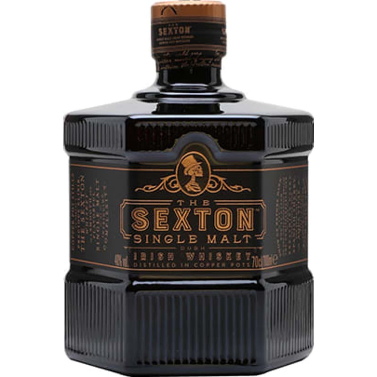 Product Image - The Sexton Single Malt Irish Whiskey