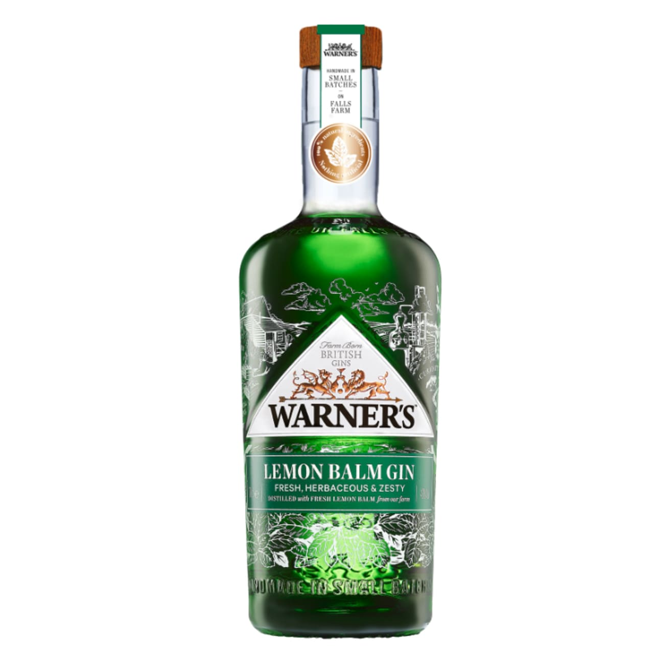 Product Image - Warner's Lemon Balm Gin