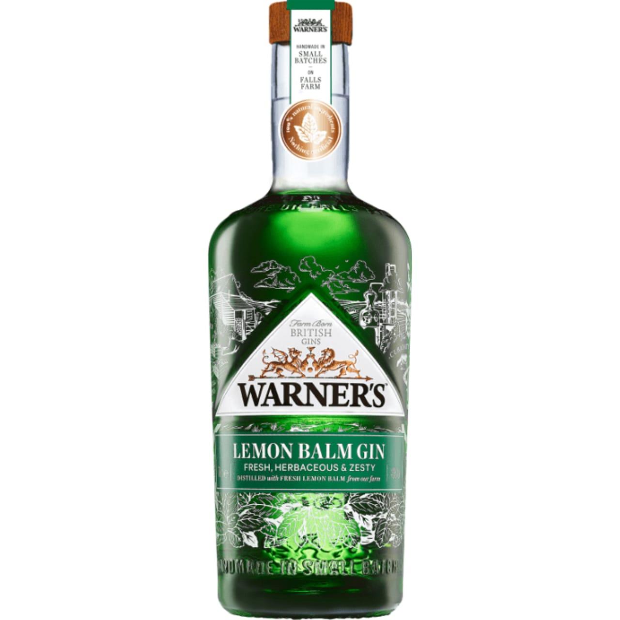 Product Image - Warner's Lemon Balm Gin