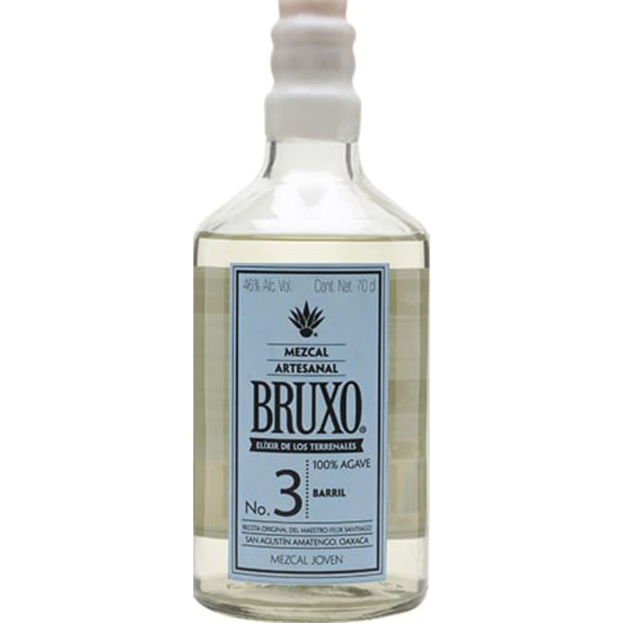 Product Image - Bruxo No.3 Mezcal Barril