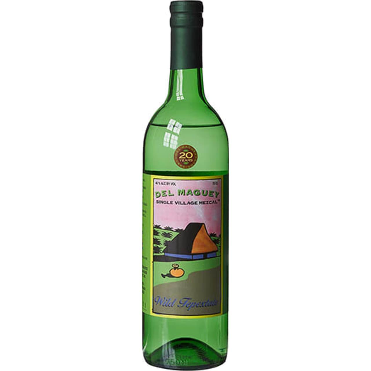 Product Image - Del Maguey Wild Tepextate Mezcal Blanco
