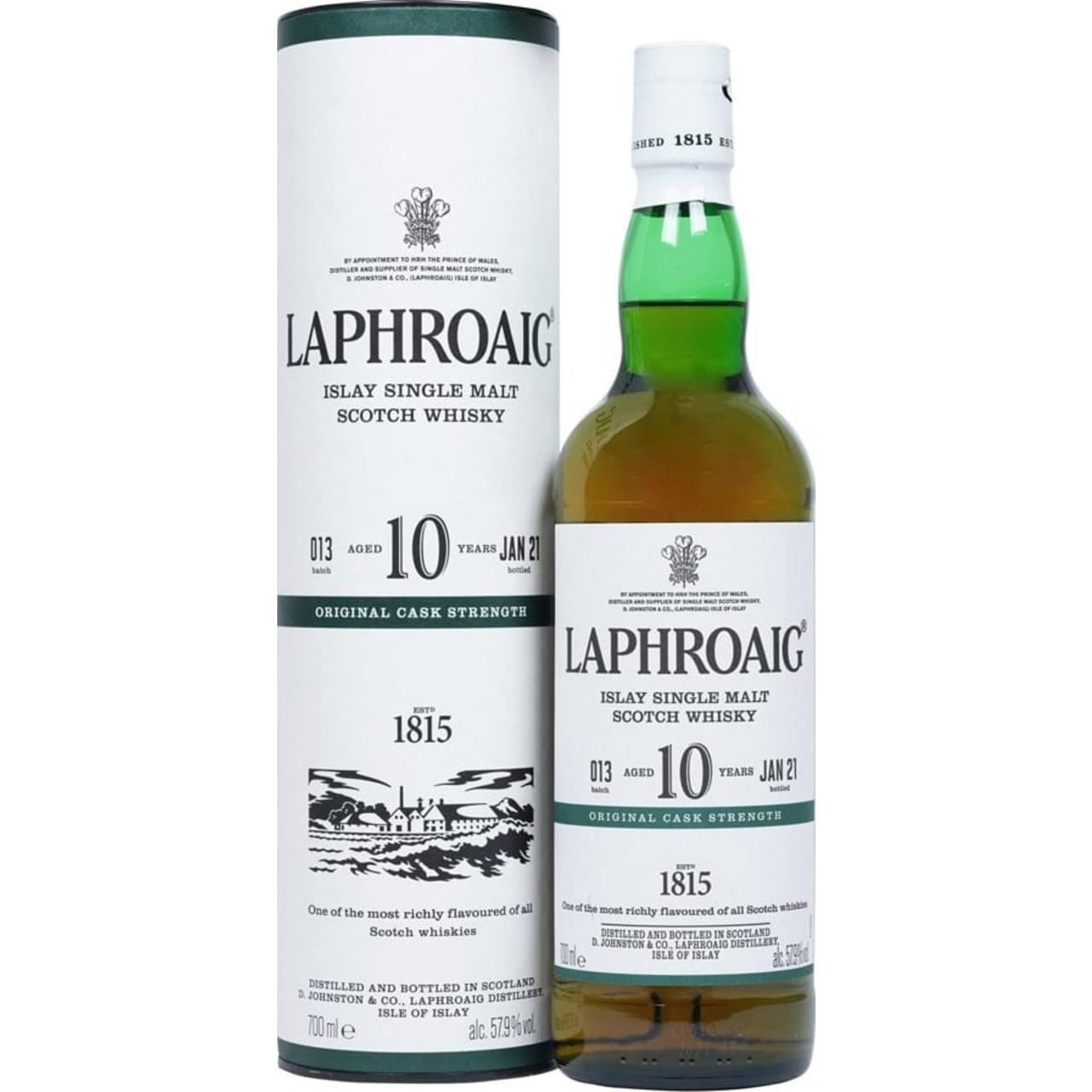 Product Image - Laphroaig 10yo Cask Strength Whisky