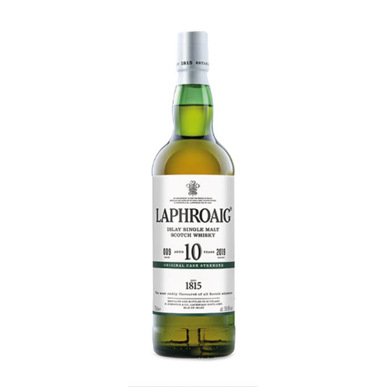 Product Image - Laphroaig 10yo Cask Strength Whisky