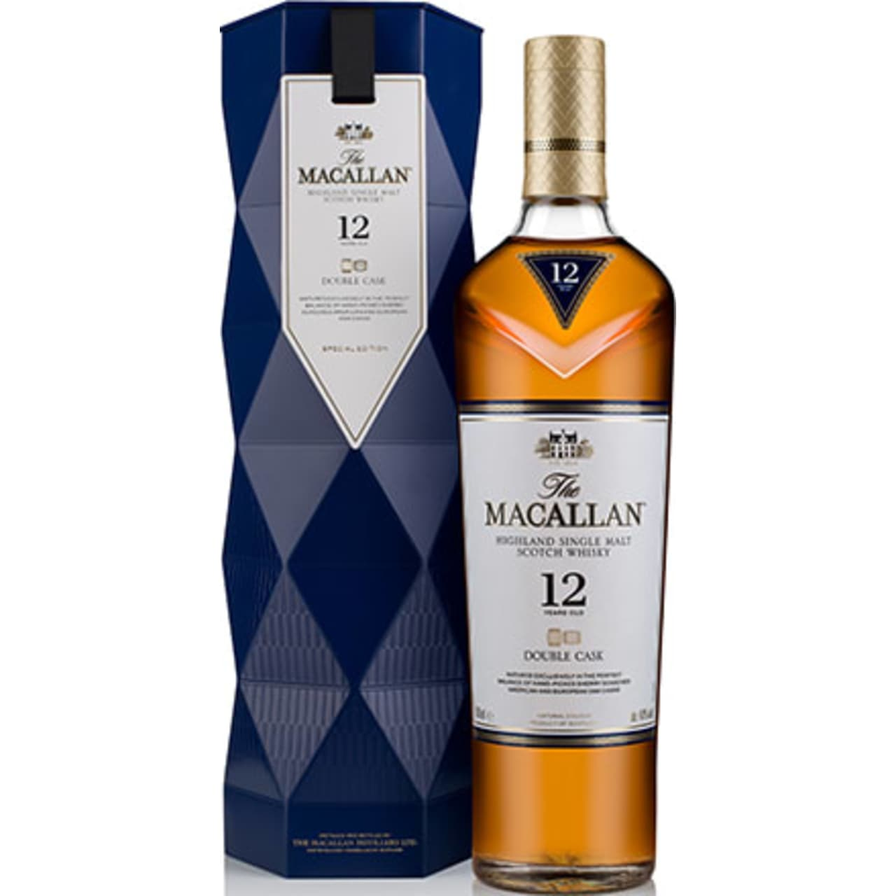 Product Image - The Macallan 12yo Double Cask Single Malt Gift Pack