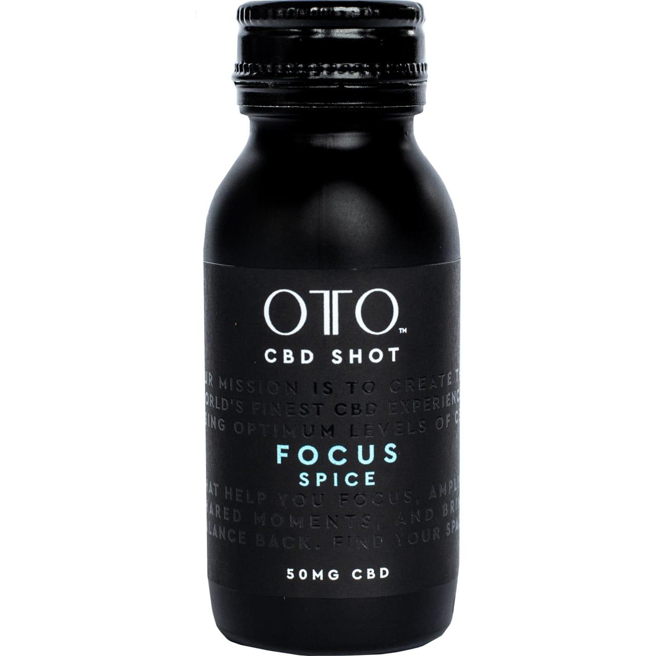 Product Image - OTO CBD 50mg Focus Shot Pack of 12