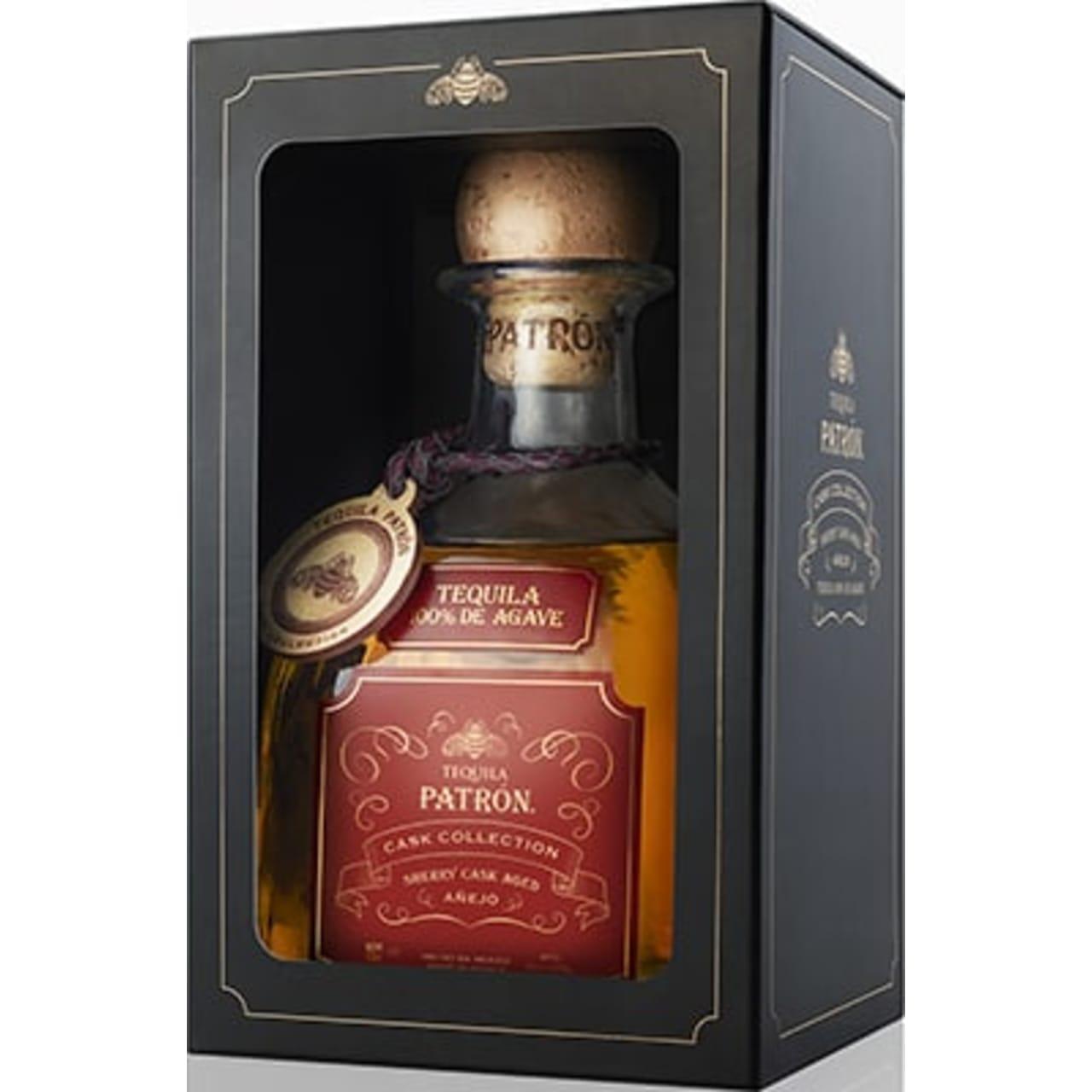 Product Image - Patrón Añejo Sherry Cask Tequila