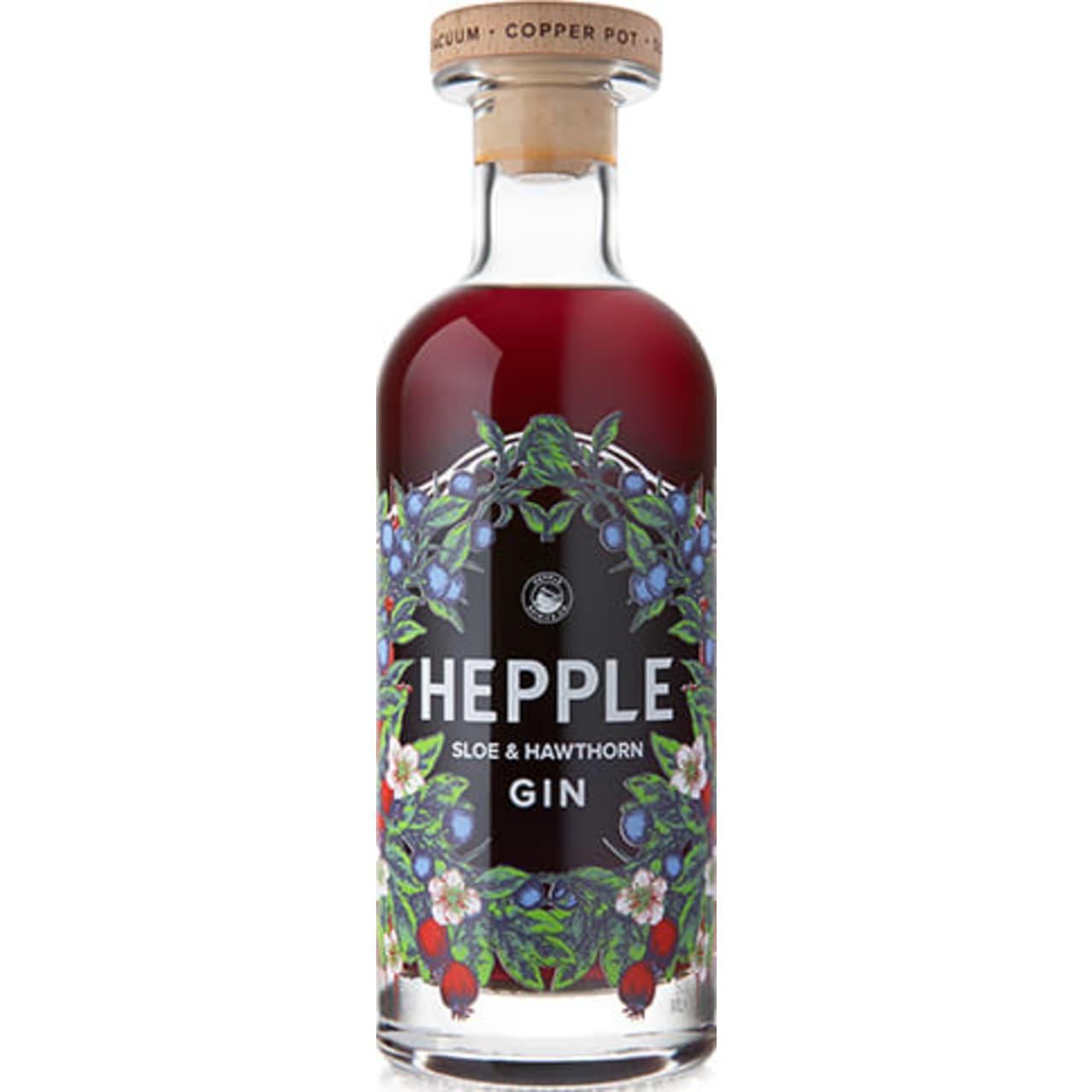 Product Image - Hepple Sloe & Hawthorn Gin