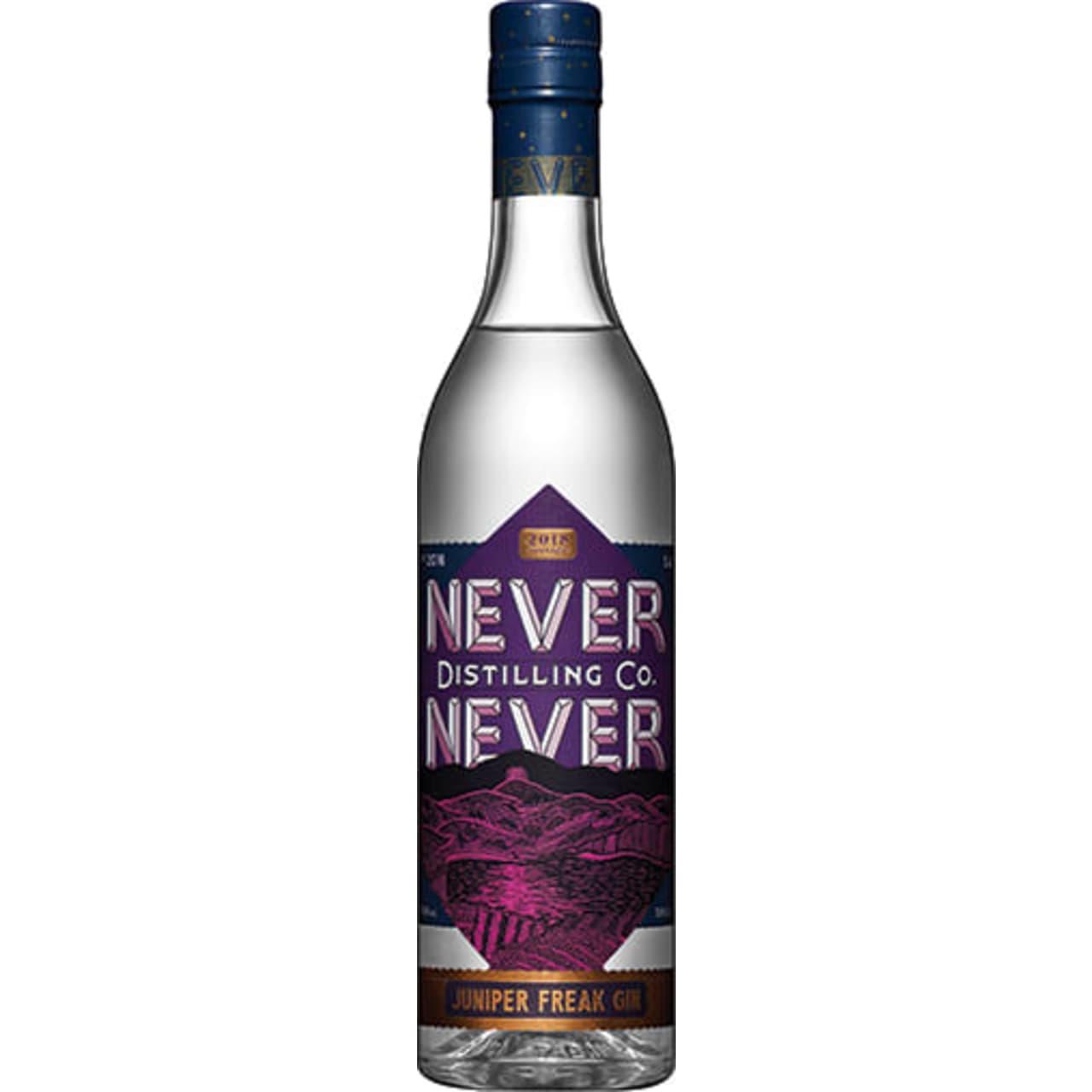 Product Image - Never Never Juniper Freak Gin
