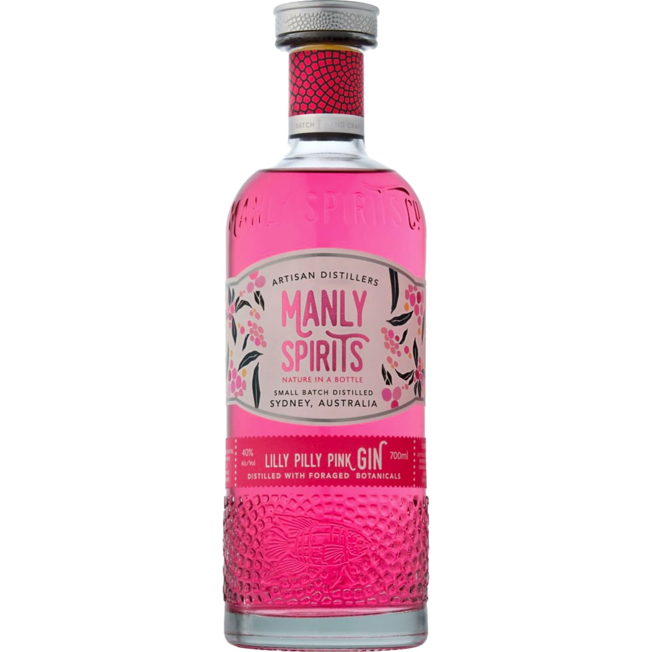 Product Image - Manly Spirits Co. Lilly Pilly Pink Gin