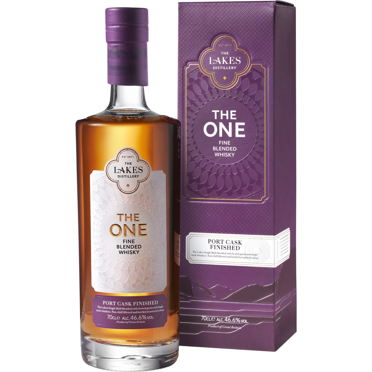 Product Image - The Lakes The One Port Cask Finish Whisky