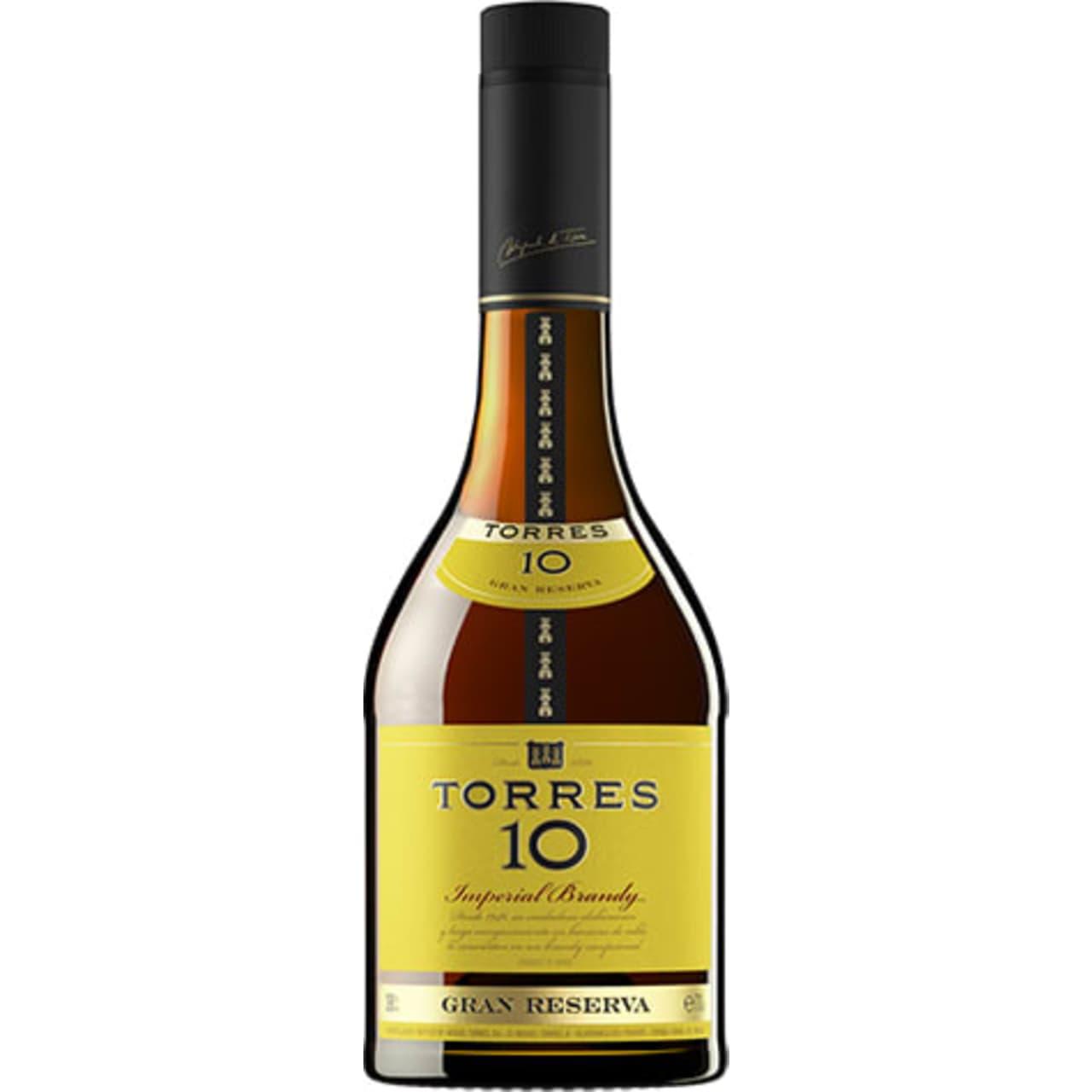 Product Image - Torres 10 Gran Reserva Brandy