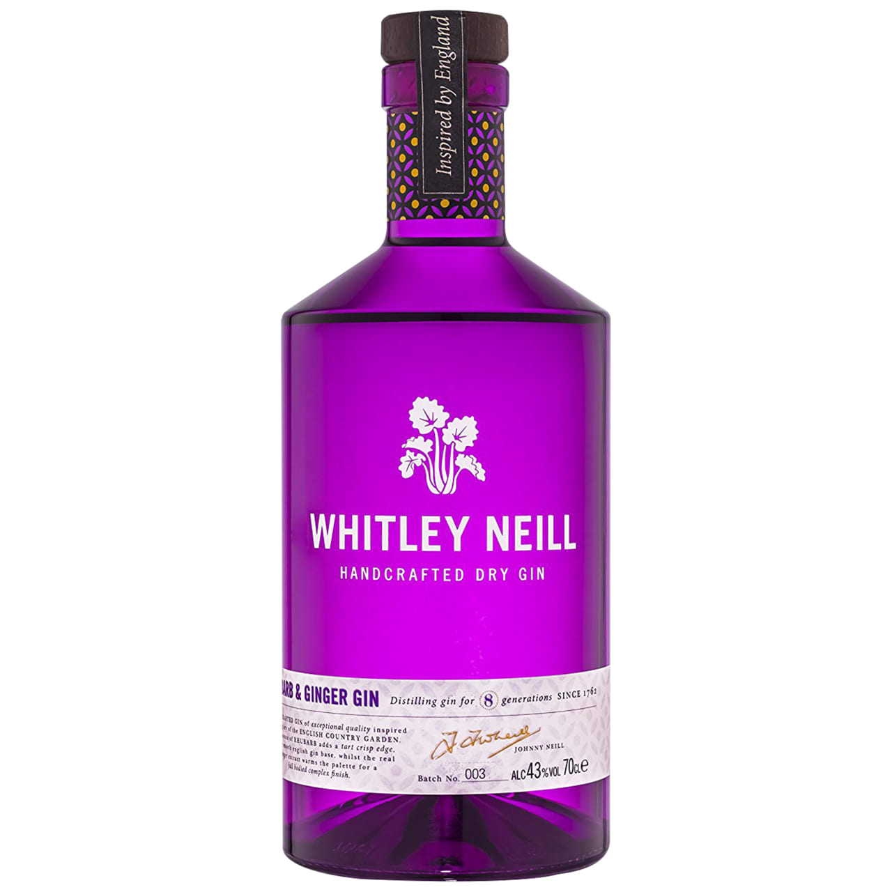 Product Image - Whitley Neill Rhubarb & Ginger Gin