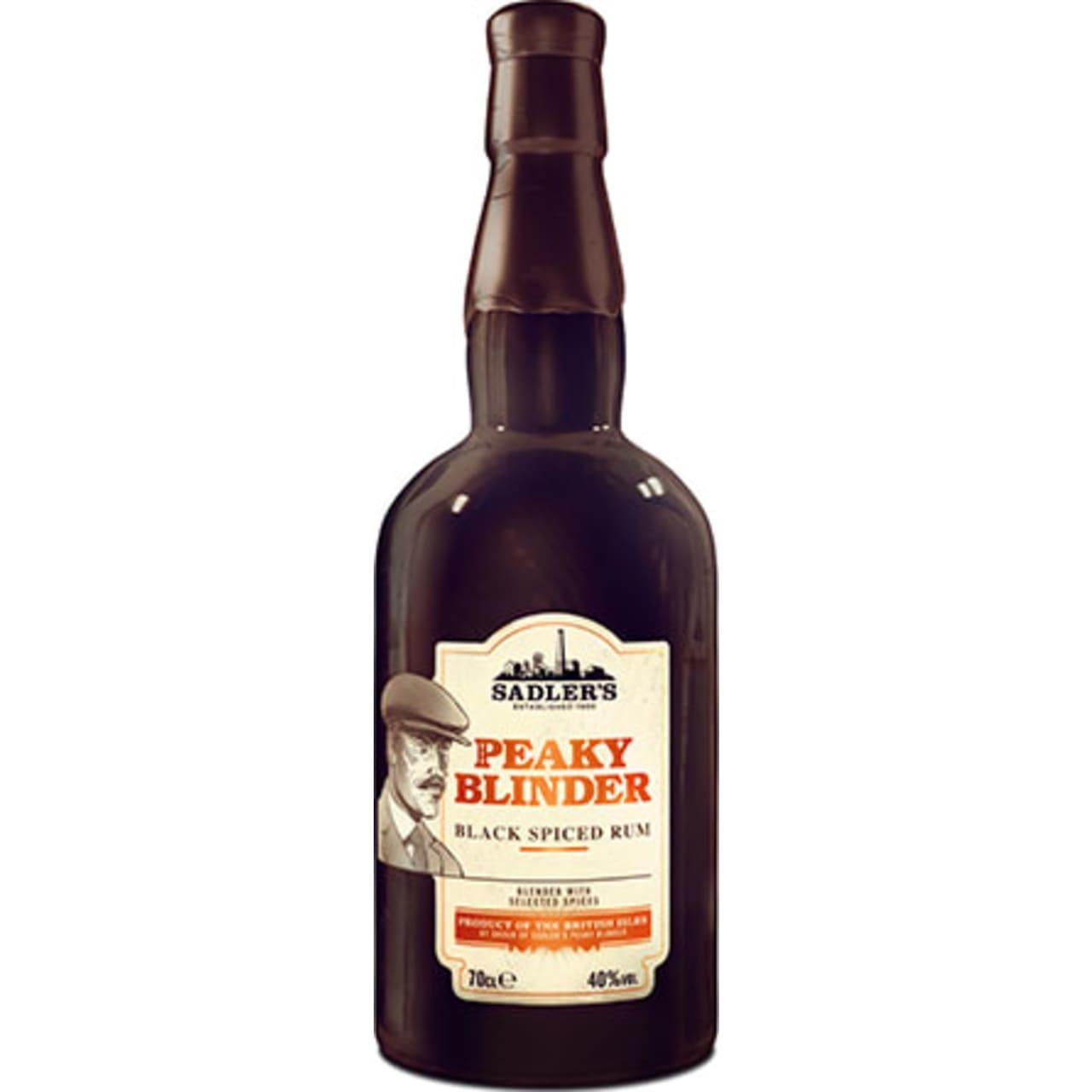 Product Image - Peaky Blinder Black Spiced Rum