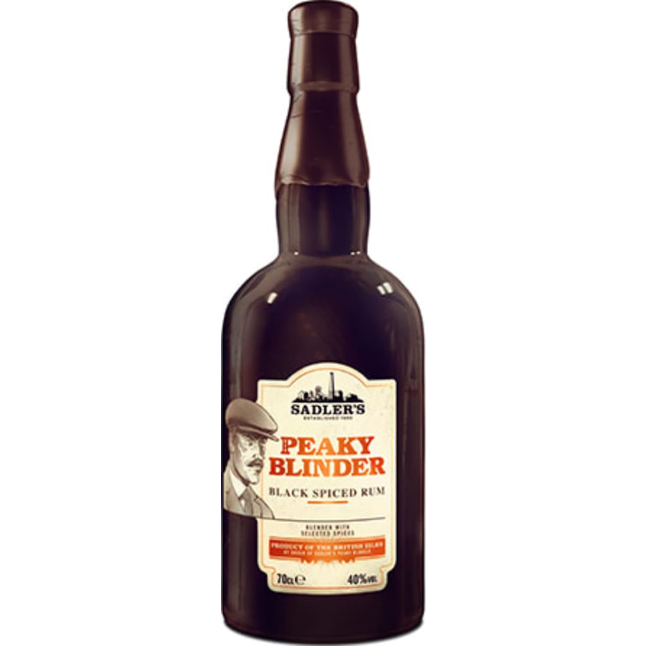 Product Image - Peaky Blinder Black Spiced Rum
