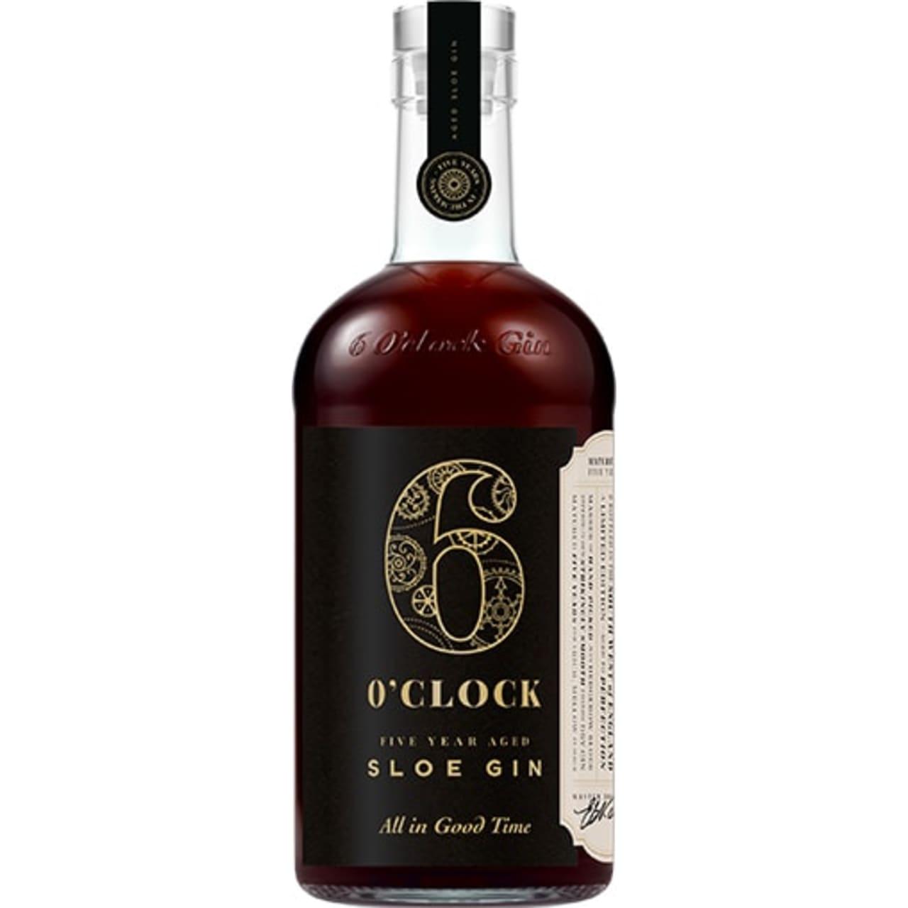 Product Image - 6 O'Clock 5 Year Old Sloe Gin